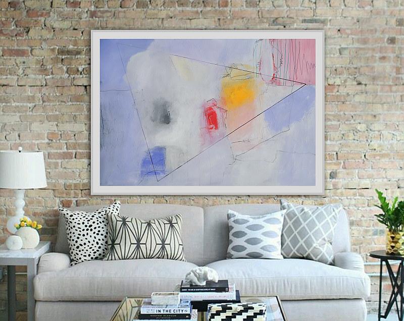 moderna apstrakcija za kuću