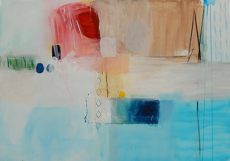 moderna slika original apstrakcija na platnu